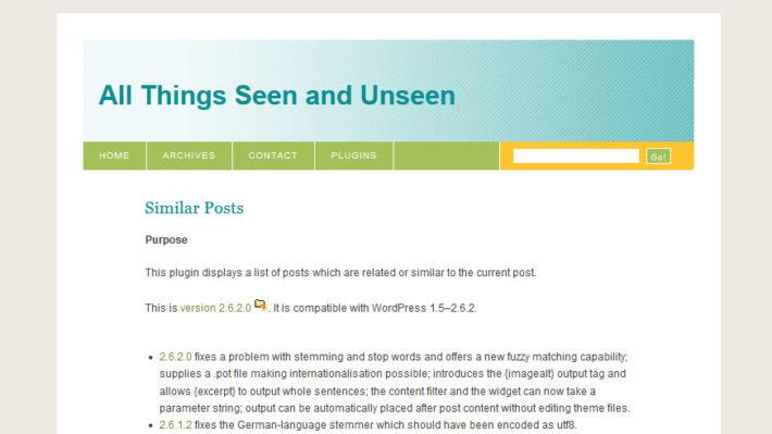 wordpress:Similer Postsプラグインにサムネイルのショートコードを