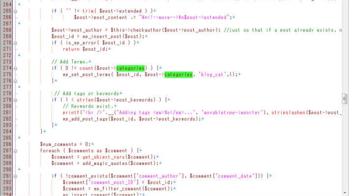 MTからWordPressへの移行時にCustum Post TypeとCustom Taxonomyを利用する