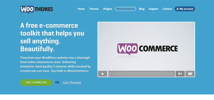 WordPress:WooCommerce始めました。